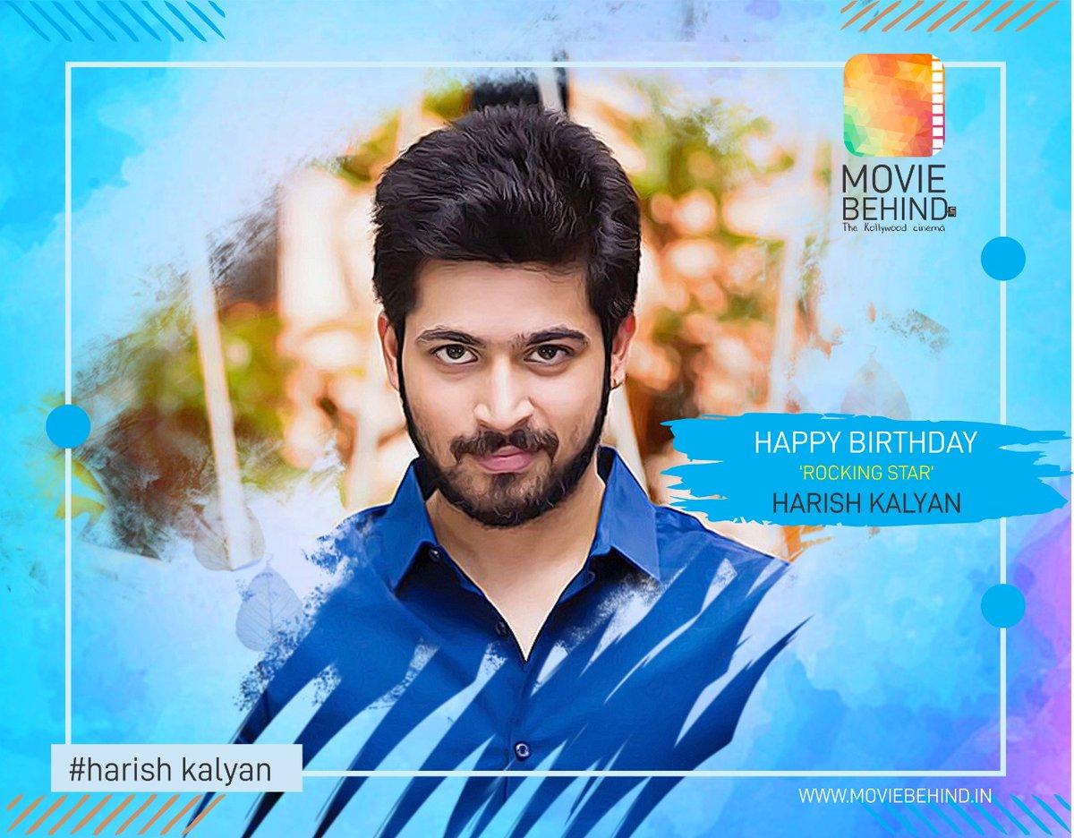 "HAPPY BIRTHDAY ""Rocking Star"" Harish Kalyan @iamharishkalyan #birthdaywishes #HBDHarishKalyan #tamilactor #kollywoodactor #moviebehind http://www.moviebehind.inpic.twitter.com/M7nREhvtYJ"