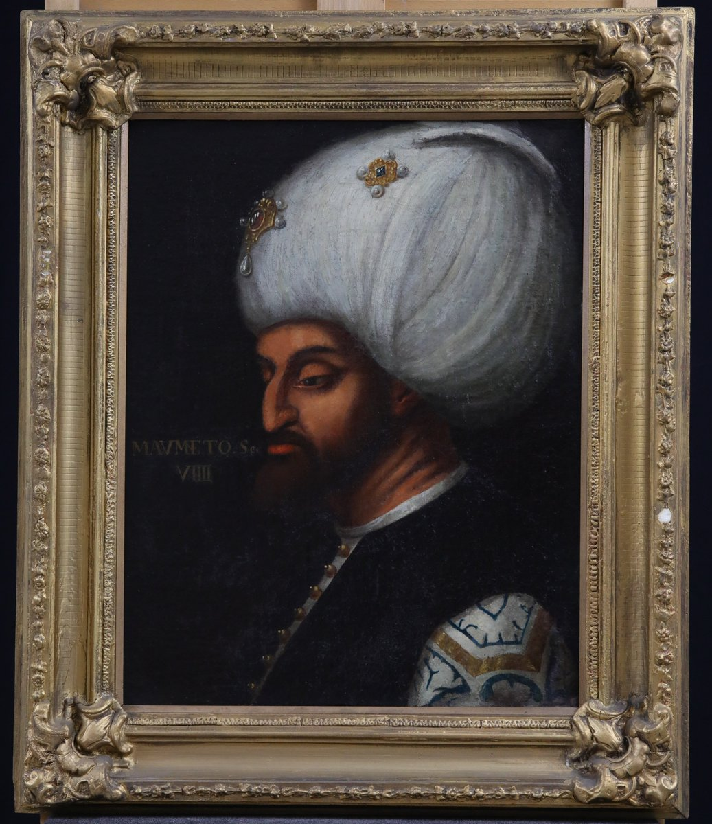 Türkiye'nin en zengin portre koleksiyonuna sahip Resim Müzesi, Venedikli ressam Veronese ve Halil Paşa'nın Fatih portrelerini ilk defa sergilemeye hazırlanıyor. Müzenin sonbaharda açılacak yeni bölümlerinde Zonaro, Hasan Rıza ve Feyhaman Duran'ın Fatih portreleri de yer alacak✨ https://t.co/jRlZoHzTxY