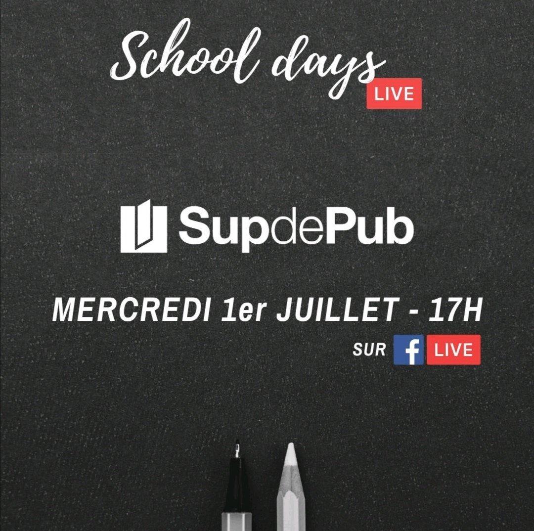 Ce mercredi 1er juillet à 17H, retrouvez-nous dans l'émission de @unpotedanslacom ! L'émission sera diffusée en live sur nos pages Facebook respectives . https://t.co/EUo8QGRUgL