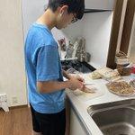 息子(高1)が作る晩ご飯まとめ!休校中に食と経済を学ばせる母!?