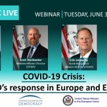 Image for the Tweet beginning: In cooperation with @US2EU,  📣@USAID &