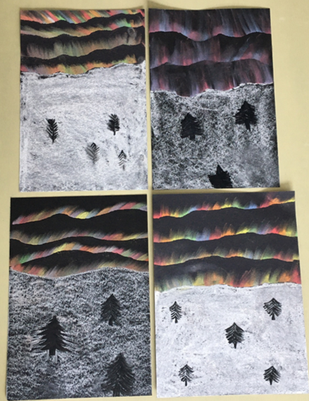 Some fantastic crafts from our Year 6 bubbles for Oasis Creative Week #Iceland #Japan #OasisCreativeWeek #OCW2020