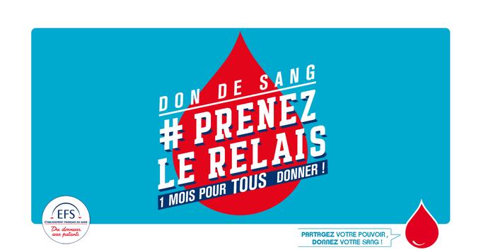 #Dondusang 🚨Les réserves de sang restent en dessous du seuil d'alerte. N'attendez pas #PrenezLeRelais avec l'@EFS_dondesang !   📍Où donner votre sang ? https://t.co/tEVpfK4wP7 📲 Toutes les informations sur : https://t.co/07ktyPBWWb https://t.co/Qb9KJsy8SJ