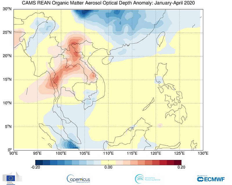 Its #TropicsDay2020! The #CopernicusAtmosphere Monitoring Service provides information on tropical wildfire activity that is used by scientists and policymakers to understand the air quality impacts of the fires and their emissions. Read more➡️bit.ly/2X46y5G
