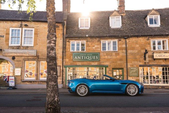 Classically British. DBS Superleggera Volante…