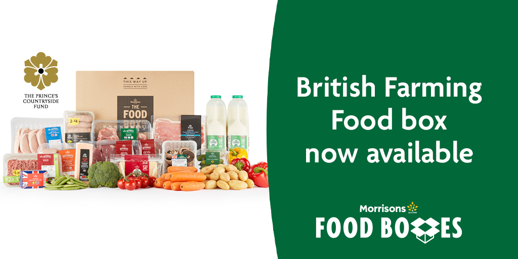 Our British Food Box now features new season lamb and is full of delicious British produce for you to enjoy. £1 from the sale of each box will be donated to British Farming Charities via the Prince's Countryside Fund too. Order your box here: https://t.co/xlNq3k4wvz https://t.co/pvEn5oeVKs
