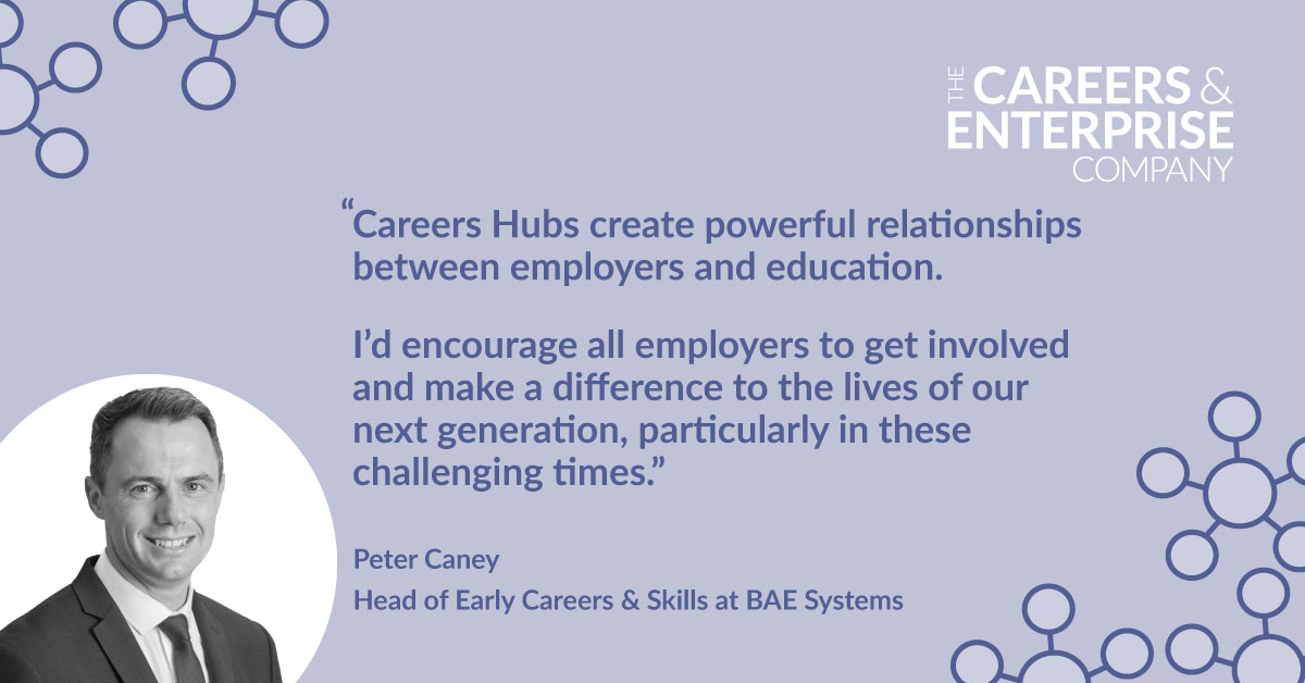 Great to see this quote from Peter @BAESystemsAir - one of our amazing #Lancashire cornerstones! Join them and a multitude of other businesses - all sizes, types and sectors, in inspiring our future workforce 💡🙌 #InspiringLancashire @lancslep @inspiraforlife