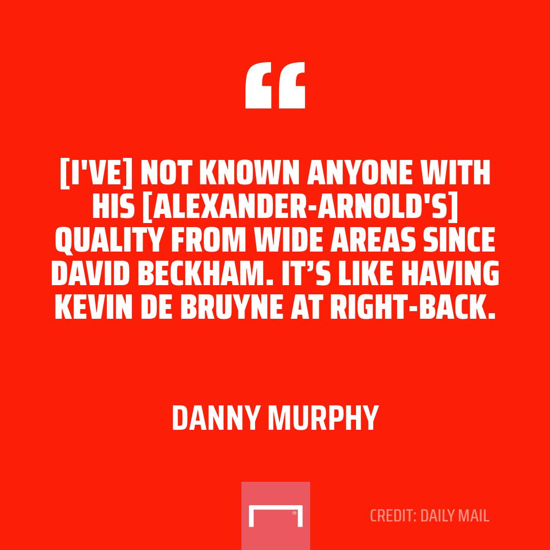 Trent Alexander-Arnold is a cross between David Beckham and Kevin De Bruyne ✨