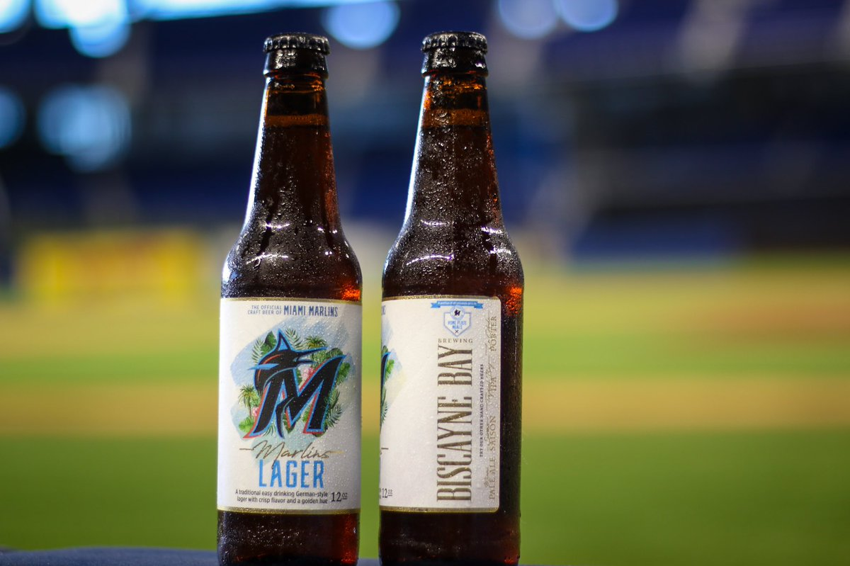 We are so proud to partner with @BiscayneBayBrew to offer our community a beer they can proudly call their own. With every purchase of a @marlins Lager, a donation is made to our Home Plate Meals Program. #MarlinsImpact