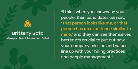Thanks to @ForceBrands for featuring Britteny Soto, Manager, Talent Acquisition (Retail) with tips on writing inclusive job descriptions. Read more here: https://t.co/YT8iwYc9dG https://t.co/YrtknQB54b