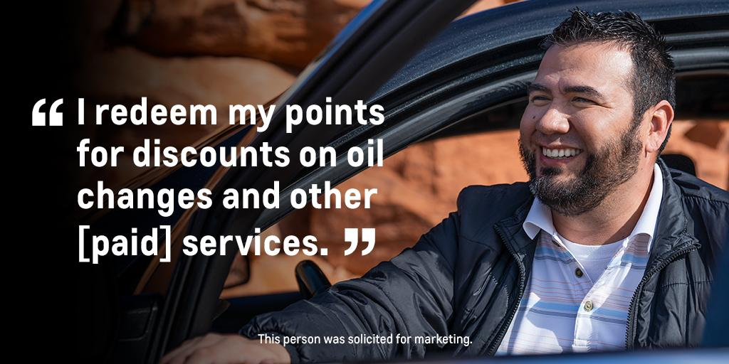Mikey is on his road to rewards. Start down yours by earning and redeeming points on paid service, accessories and more with My Chevrolet Rewards. Join for free: https://t.co/uqMOeXLj2k https://t.co/mFrwKZOORT