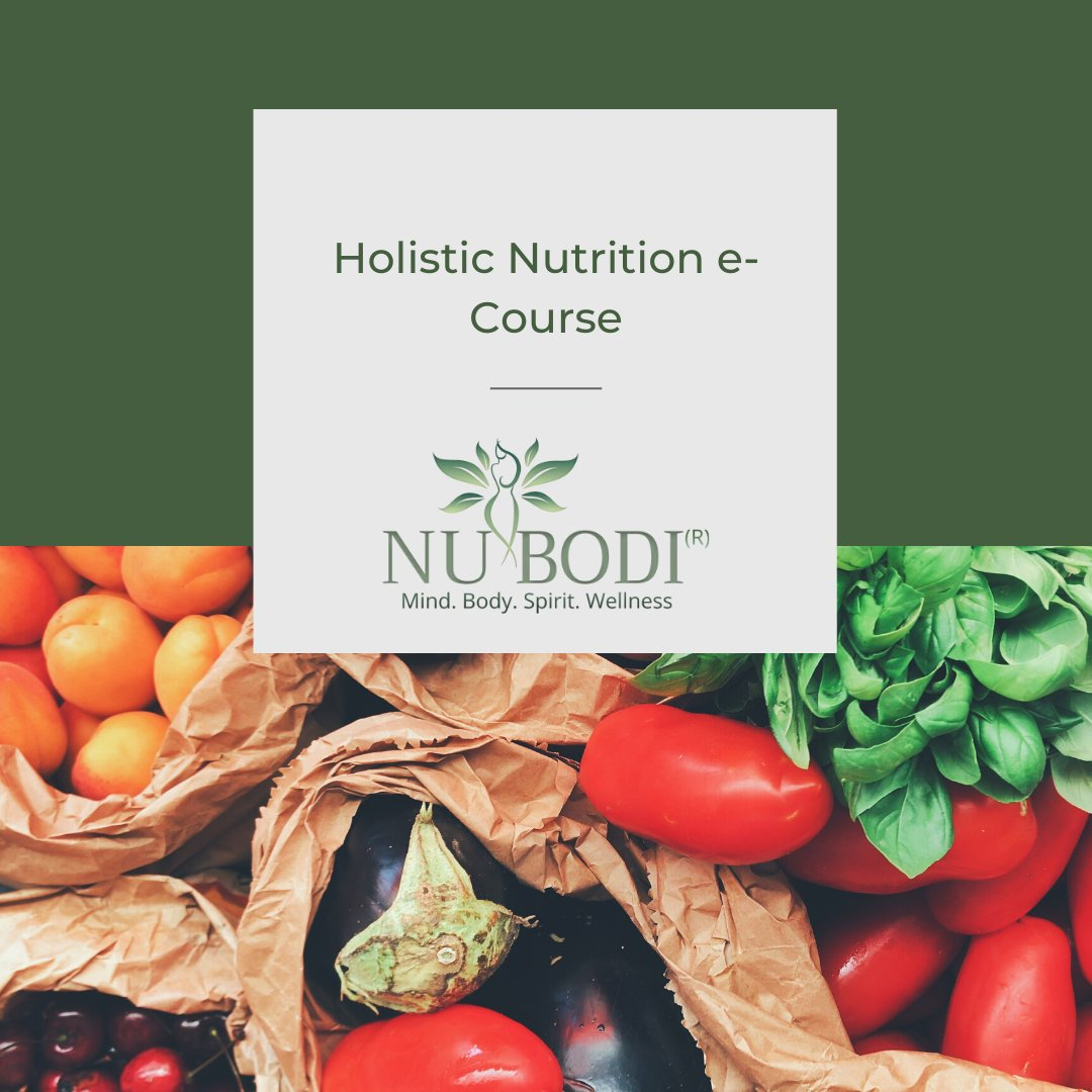 Have some free time on your hands? Give NUBODI e-courses a try. One of our most popular are courses, Holistic Nutrition, is sure to inspire, educate and motivate. Dive into the ways nutrition, when used as medicine, can heal. Study at your own pace these wonderful short online co pic.twitter.com/ycv9Dgcbv4