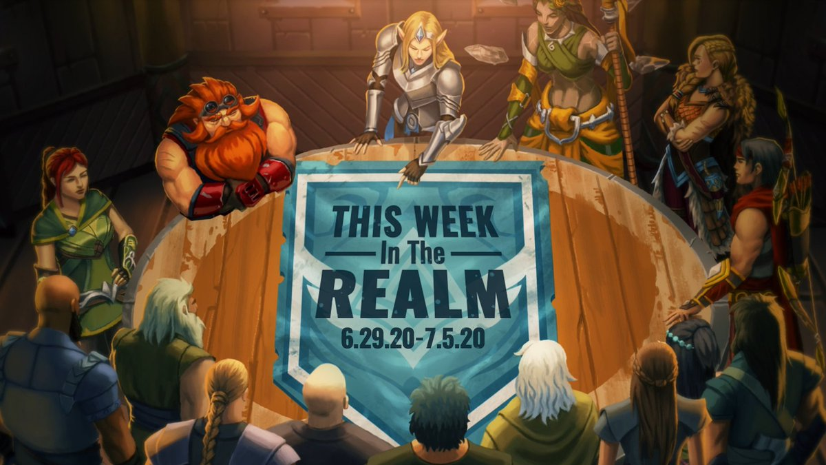 You dont need sight into the cosmos to see there is excitement coming this week: More Teasers! Update Show & More Details here: paladins.com/news/this-week…