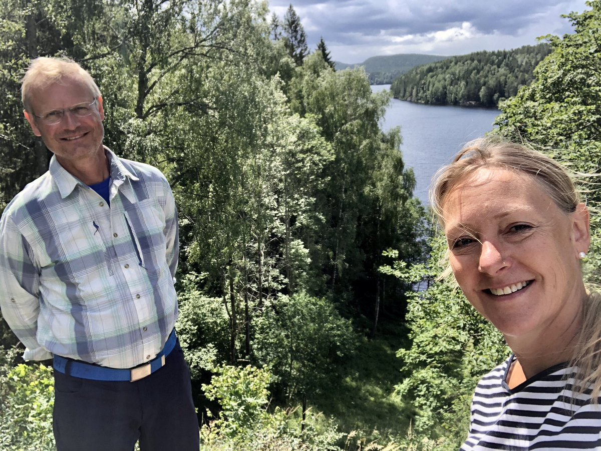 Enjoying a beautiful walk around in the forested area Østmarka in Oslo and an in-depth discussion on #SouthSudan with the 🇳🇴Special Envoy @Endre_Stiansen. #consistentpartner #CommonFuture. https://t.co/o0S5hPll1w