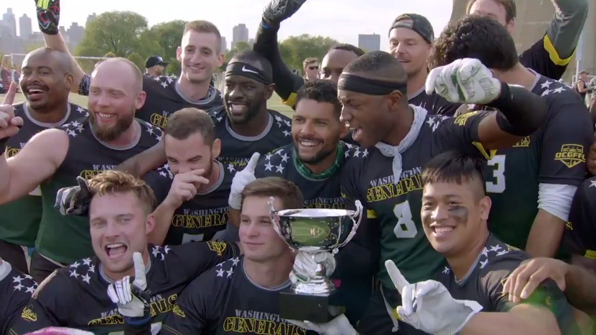 """""""You can come out here and have a safe, inclusive place to play football.""""  The National Gay Flag Football League has provided a growing community that has changed and saved lives. @NGFFL 🏳️🌈 #NFLPride (via @NFLFilms) https://t.co/MiOl8W4mAD"""