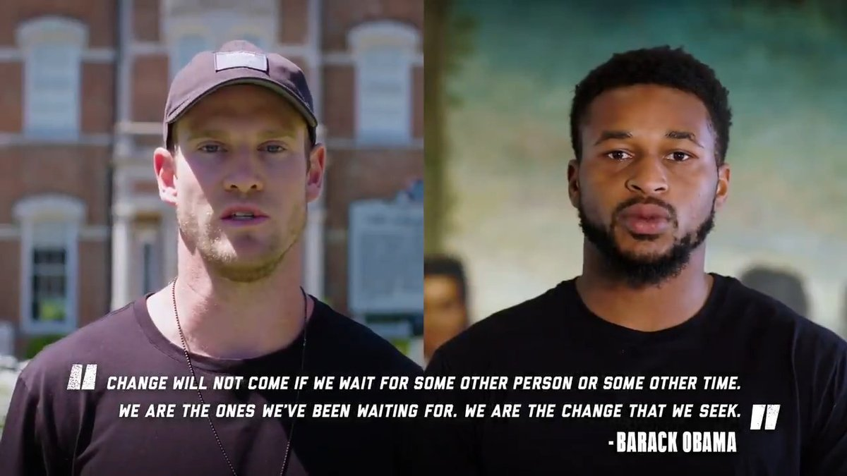 .@Titans players and staff invite you to continue the conversation on race. #InspireChange   https://t.co/HoX5jccClv