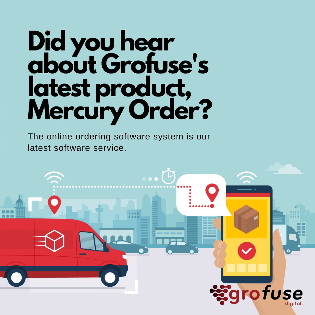 Grofuse have introduced our new software as a service product, Mercury Order. Find out more about the state-of-the-art ordering system here: https://mercuryorder.com/retail/examples/…  #Saas #OnlineSales #OrderingSystem #SellOnlinepic.twitter.com/Jsv8MBec0c