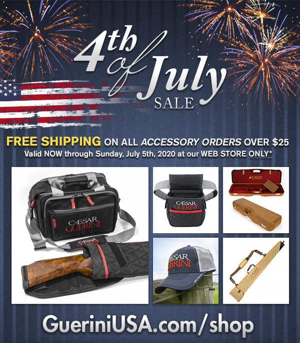 Free Shipping on CG Gear at our web store now through Sunday July 5th. No code needed. http://Gueriniusa.com/shop  #4thofjulysale #CaesarGuerini pic.twitter.com/hCszk0CAmg