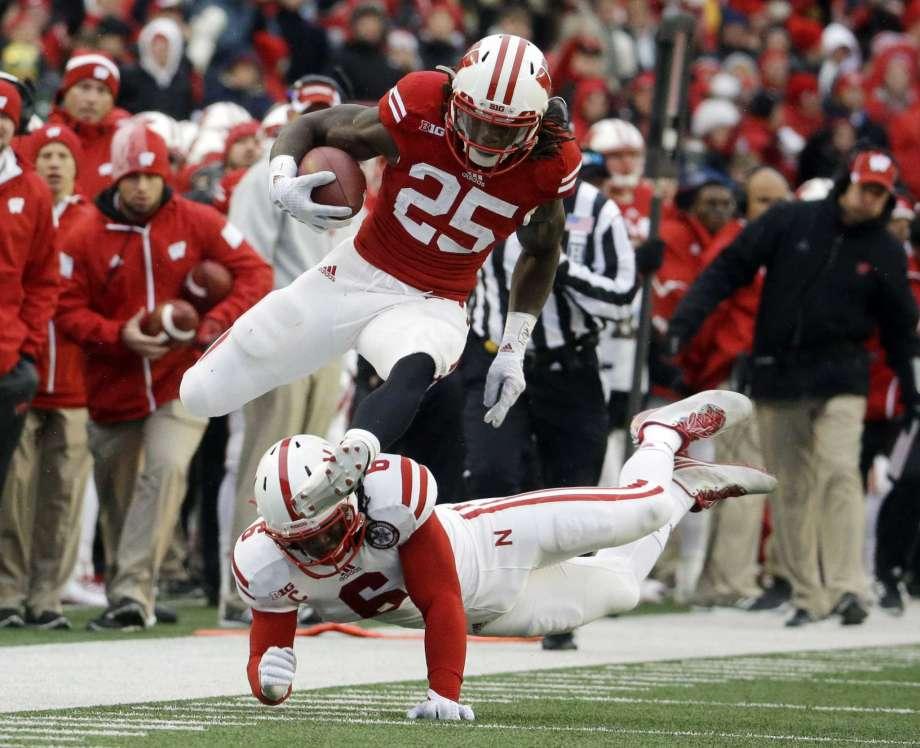 RB- JK Dobbins (Ohio State) RB- Melvin Gordon (Wisconsin) RB- Justin Jackson (Northwestern) <br>http://pic.twitter.com/GBdlCDyENJ