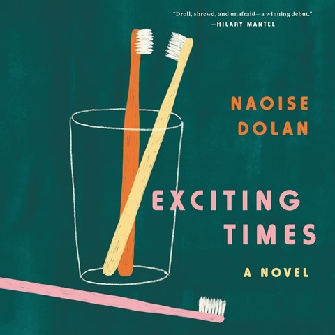 """Today's #AudiobookReview Aoife McMahon delivers this engaging & well-crafted debut novel from @NaoiseDolan in a performance that is """"bright, sassy & delightful""""  #EarphonesAward @HarperAudio https://t.co/gRP17W7BLC https://t.co/uin6EEuWhK"""