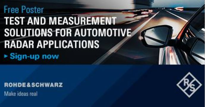 Want to get an overview on the testing methods applied on radar sensors and their integration into vehicles?  Sign up and receive your free poster via mail or download!  #Automotive #Radar #ADAS https://t.co/jPAd2Kjl0f