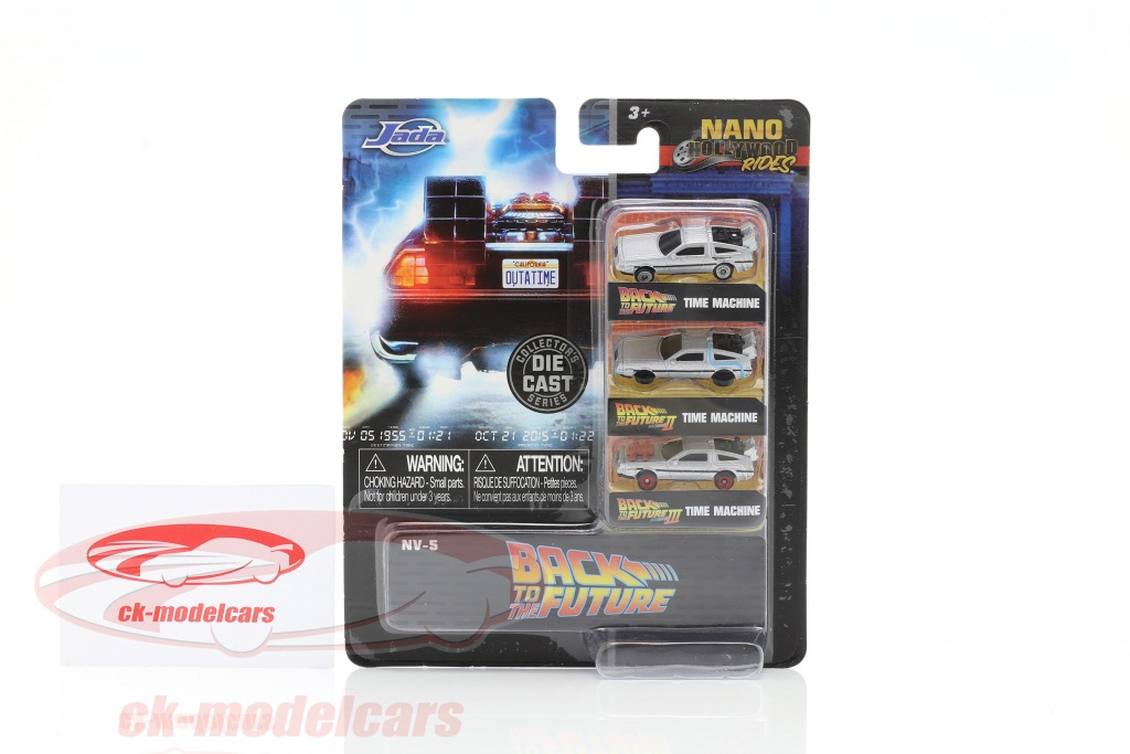 3-Car Set #DeLorean #TimeMachine #BacktotheFuture silber #diecast #miniatures #modelcars #automodeli scale 1:87 by #JadaToys check out https://ck-modelcars.de/de/jadatoys-1-87-3-car-set-delorean-time-machine-back-to-the-future-silber-253251002/p-61676/ … pic.twitter.com/y5UeC4O5GP  by ck-modelcars.de