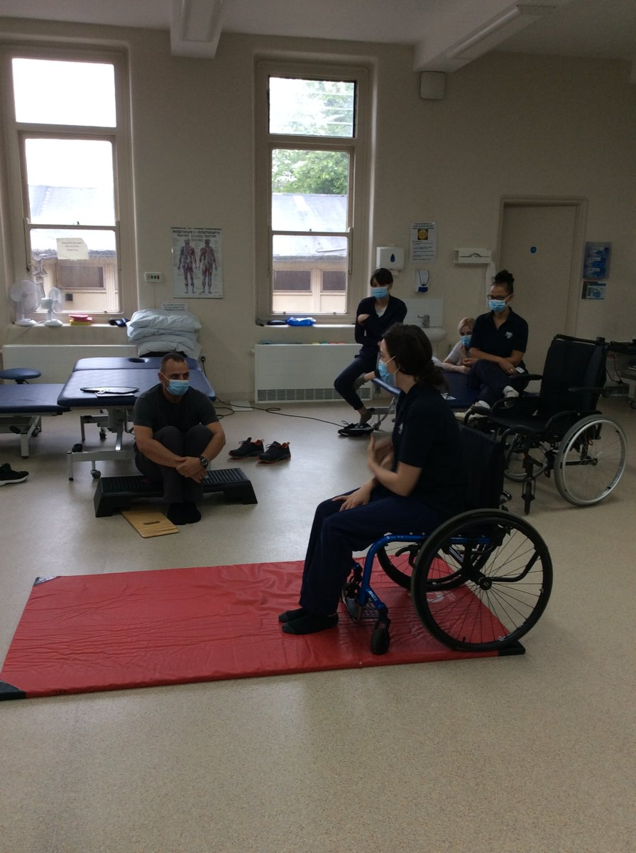 As we strive to train to a high standard providing specialised professionals in our interdisciplinary team, our therapy team refreshed their memory to enhance their ability to teach floor to wheelchair transfers safely to our patients.  #Hospital #HealthcareUk #Ukihma #Therapy https://t.co/lfU3hMbk2u