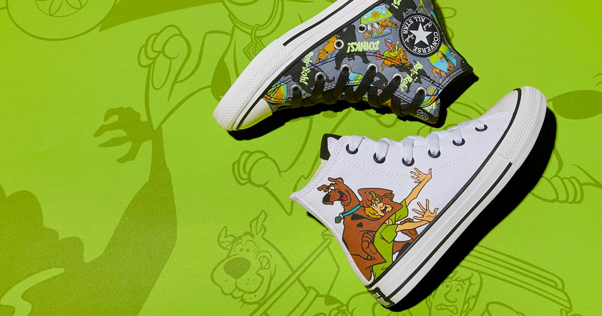 Converse x Scooby-Doo is the collab you've been waiting for https://t.co/oidkq4oUwm