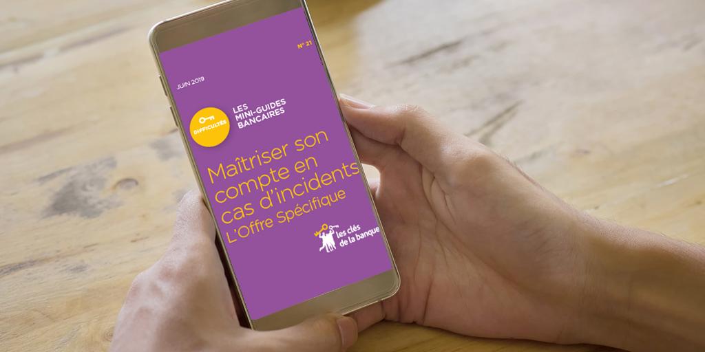 #1Semaine1Guide : La Banque simplement avec @clesdelabanque, le programme d'#EducFi FBF. Cette semaine : Maîtriser son compte bancaire en cas d'incidents grâce à l'#OffreSpécifique.  🔶 En savoir plus https://t.co/noq8d1acjk  🔶 La collection des guides https://t.co/Eb7sfJMNl4 https://t.co/G0J8jvlvgp