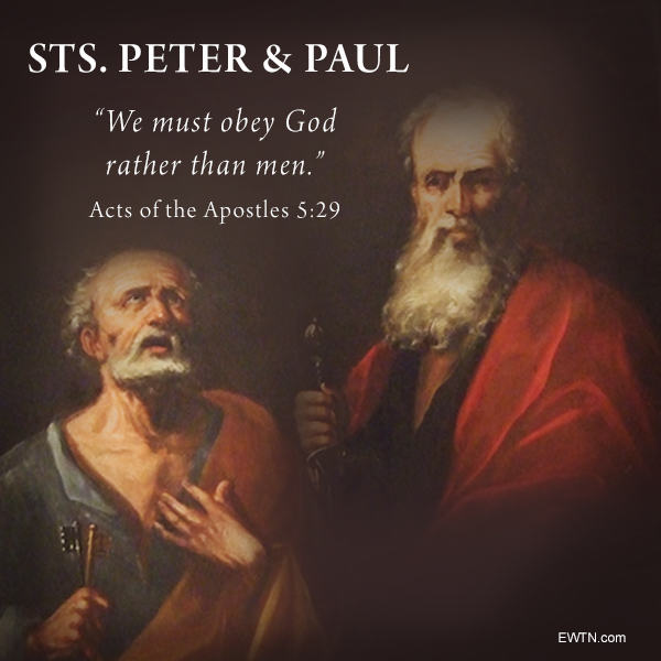 @EWTN's photo on Peter and Paul