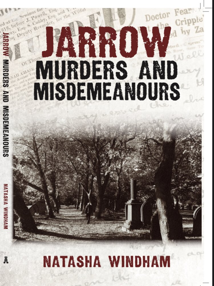 #JarrowMurdersandMisdemeanours to be published on Oct 15th.   Read true-crime stories from  #Jarrow's dark past. Tales include: murder, brawls and theft.   Pre-order here 👉🏻 …  Also available at Amazon.   #Tyneside #Amberleypublishing #truecrime