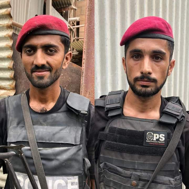 Salute to these two heroes Constable Rafiq and Constable Khalil. You guys are true Gladiators and #ShaanePakistan https://t.co/MRld6HNI7K