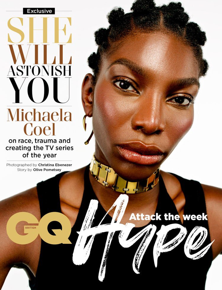 The incredibly talented @MichaelaCoel Photographed by Me for @BritishGQ #GQHype Cover. #IMayDestroyYou   Fashion #AngeloMitakos Makeup: @BerniciaBoateng  Story: @olivepometsey   Thank you British GQ, absolutely loved shooting this amazing woman 🖤