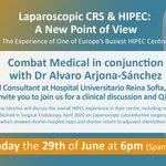 Image for the Tweet beginning:  @CombatCancer #HIPEC  Don't forget
