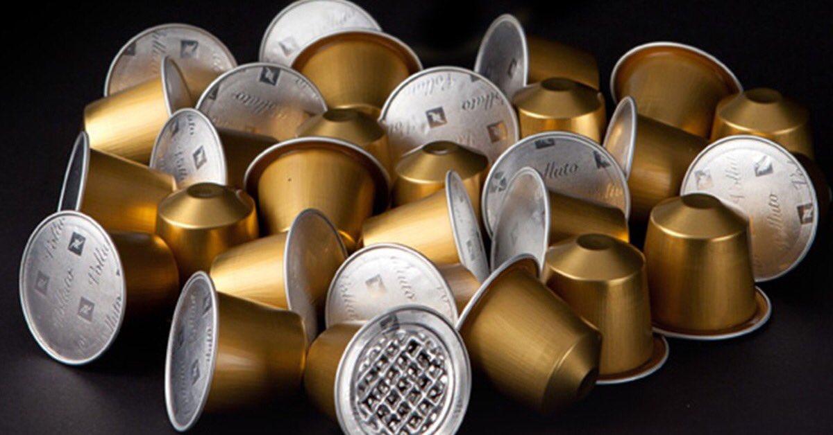Nespresso launches new capsules using 80% recycled Aluminium' #qatalum #qatar #aluminium #recycling #packaging  Courtesy: https://t.co/NIo03fygrI https://t.co/U5alPVOrWF