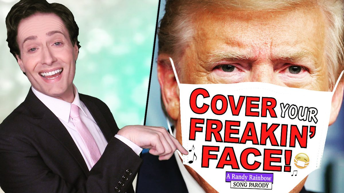 @RandyRainbow's photo on #CoverYourFreakinFace