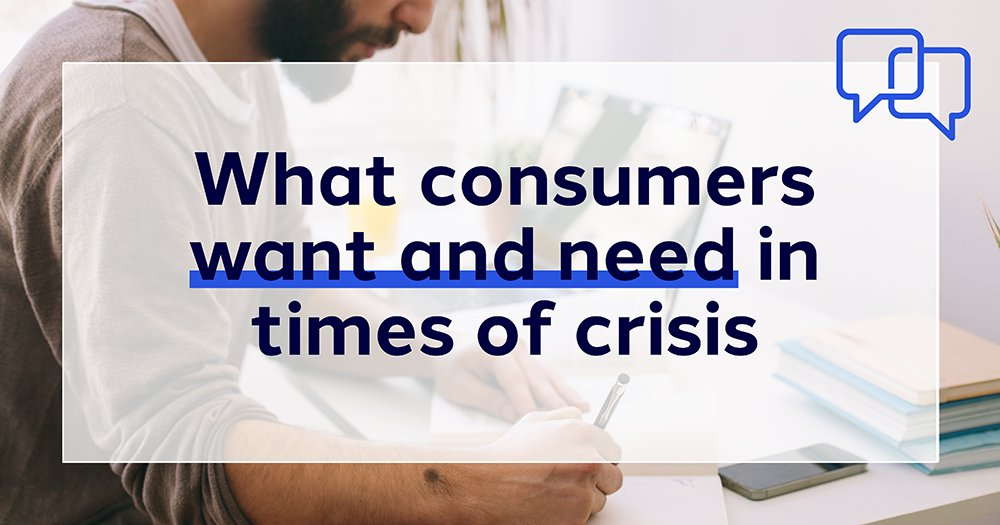For the latest episode #OnBrand we spoke to Dirk Herbert, Chief Strategy Officer at Dentsu Americas, about what consumers want and need in times of crisis: fal.cn/38Sov