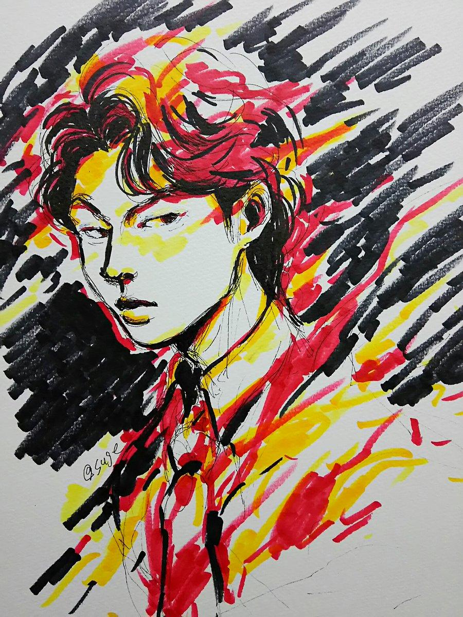 赤と黒と黄の町田さん
