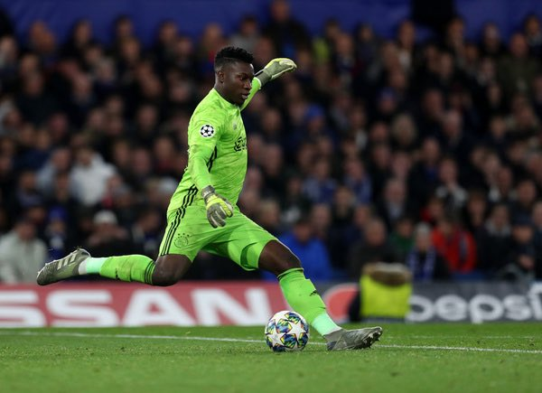 Chelsea boost over Tagliafico & Onana. Ajax with manager Erik ten Hag suggesting that Nicolas Tagliafico and Cameroon goalkeeper Andre Onana (below) could leave this summer. Chelsea have been linked with the pair as Frank Lampard continues his overhaul.