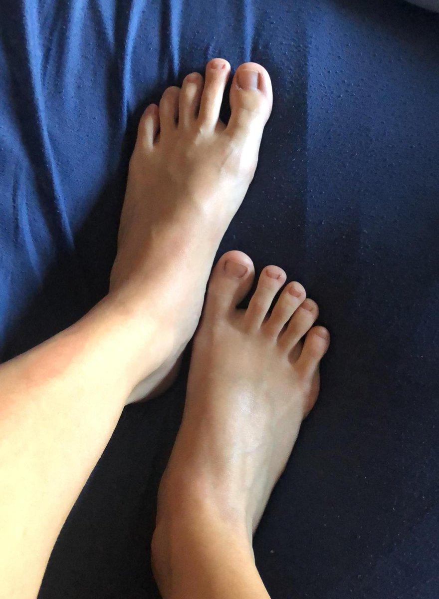 Feet girls More than