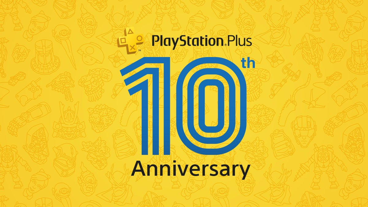Today, PlayStation Plus turns 10 🎂  Celebrate with an additional monthly game, free PS4 theme and a look back at a decade of Plus: https://t.co/B5p4fmWgqp https://t.co/h5ebHYVIVf