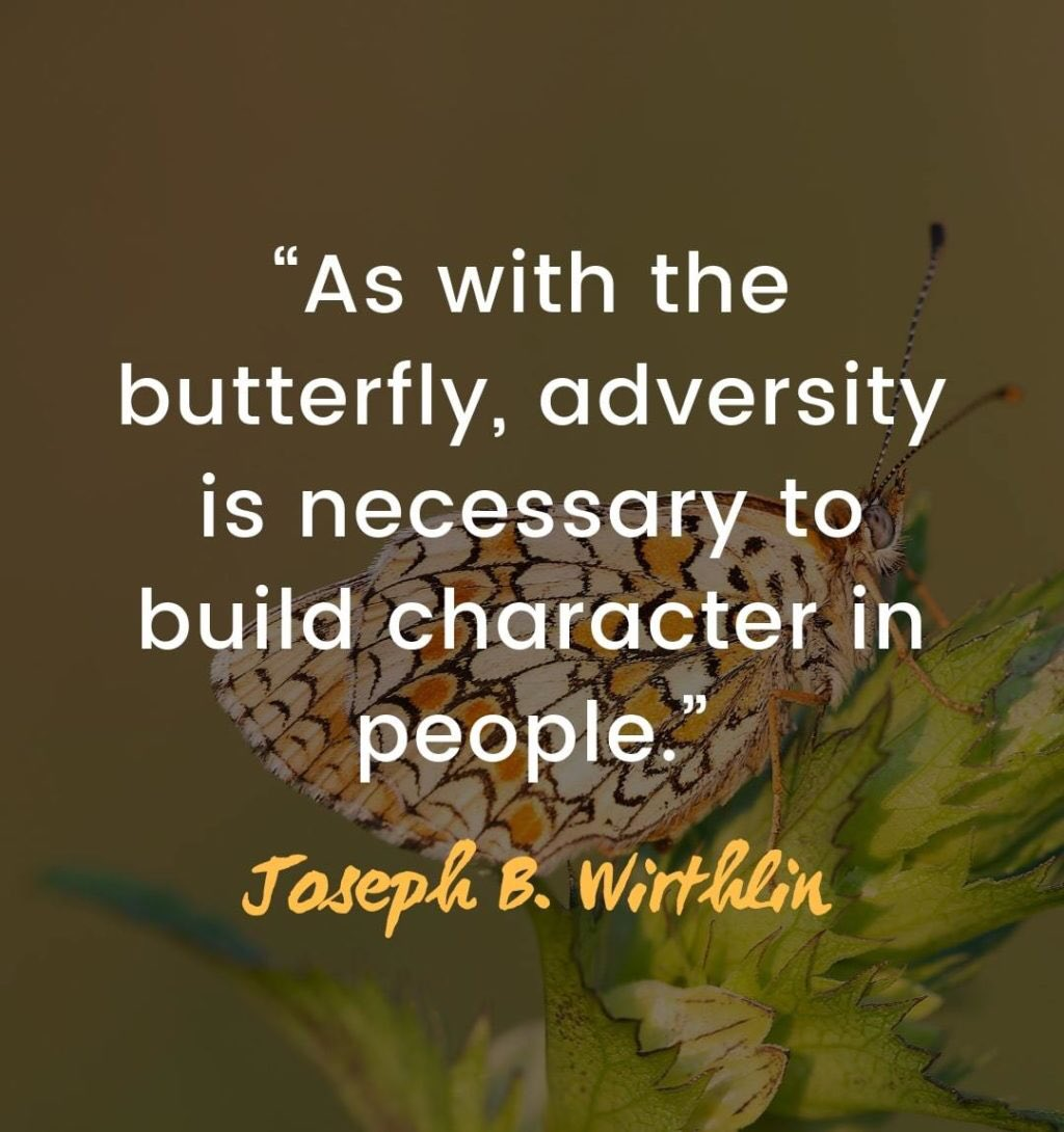 We are constantly faced with challenges that push us beyond what we think are our limits. That adversity exists to grow us and to make us better. We are collectively facing many challenges in our world right now. Our character will be revealed by how we overcome. #reynproud https://t.co/1zi5hHGJ5p