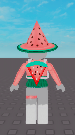 Roblox Watermelon Hat
