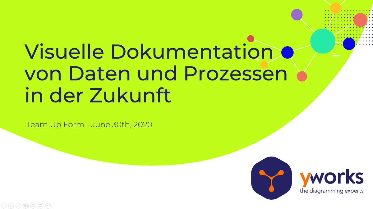 "Tomorrow, you can see our presentation ""Visuelle Dokumentation von #Daten und Prozessen in der Zukunft""! The presentation is in German, but you can also talk with us during this free digital event in English about #collaboration features in @Confluence!  https://www.k15t.com/events/team-up-forum …pic.twitter.com/O7GHa1pjtz"