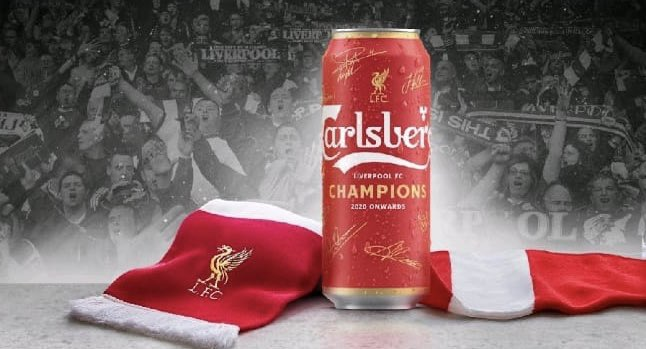 What's your thoughts on this limited edition @carlsberg @LFC beer can?