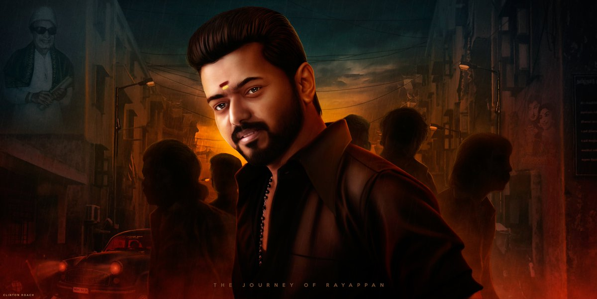 What if we get to know the early stages of Rayappan !  Here's my imagination poster for the prequel of the most loved gangster !!!  @actorvijay  @Atlee_dir !!!  #Master https://t.co/oSpMJOPKuI