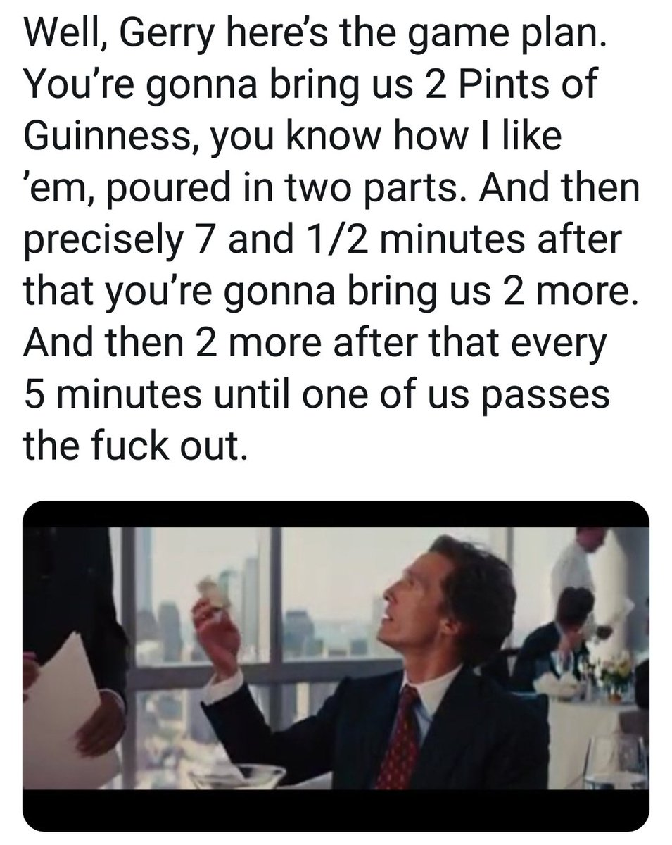 How to make the most of your allocated 105 minutes in the pub. 😂😂