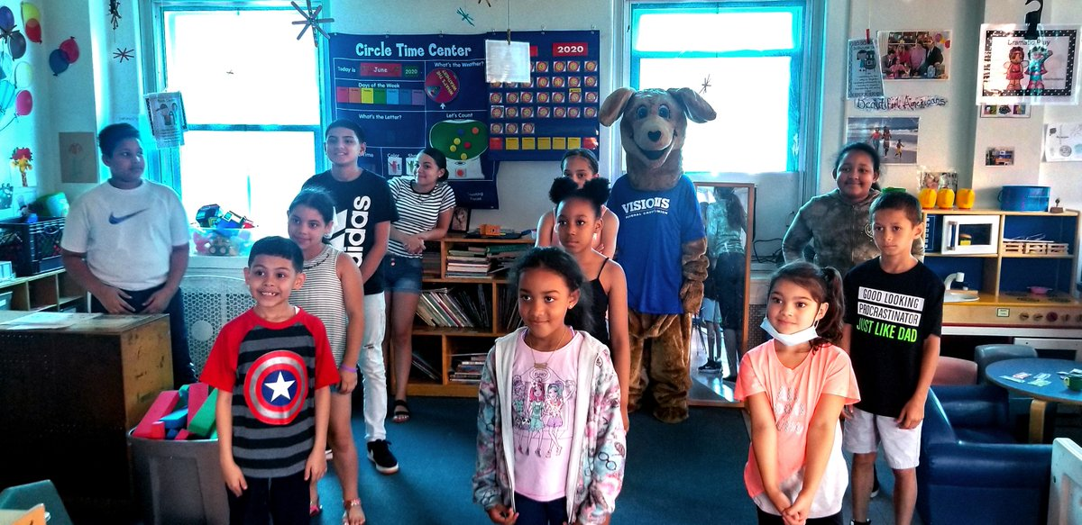 Last week, Visions (& Kirby!) visited the Youth Summer Program at @ReadingBerksY & spoke about financial wellness through our Save, Spend, Share presentation. Interested in having us host a seminar for your school, business, or organization? Visit https://t.co/jnT3UAHf9U https://t.co/8lpFXNUEm6