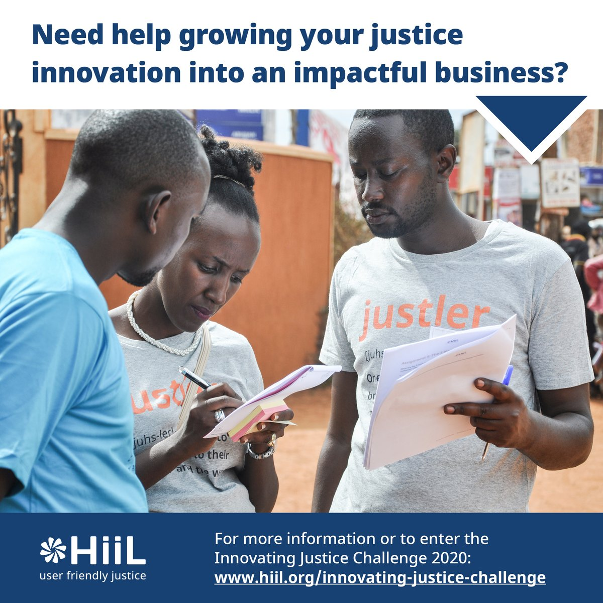Need help growing your justice innovation into an impactful business?  For more information or to enter the Innovating Justice Challenge 2020: https://t.co/0pEzq8TAbK  Apply by 5 August 2020 https://t.co/EhbgQeyVx6