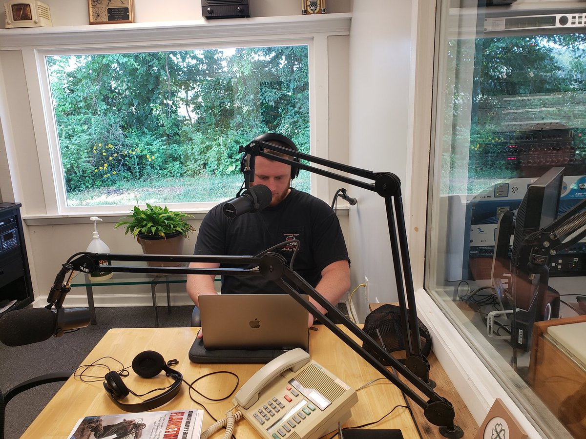@gosiker56 in the @WTBQAMFM studios. https://t.co/bkxRmoIVFz